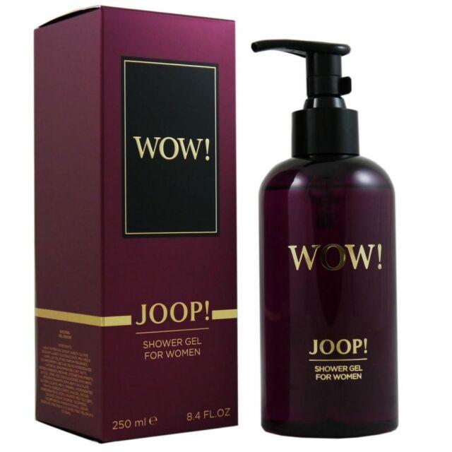 Joop Wow for Women 250 ml Shower Gel Duschgel NEU OVP Pumpspender