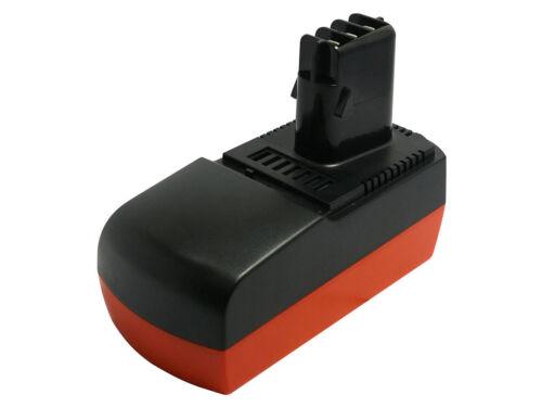 Ula 9.6-18 3000mAh Nimh 18V Batterie pour Metabo Bsz 18