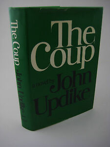 1st-Edition-THE-COUP-John-Updike-NOVEL-2nd-Printing-Before-Publication-FICTION