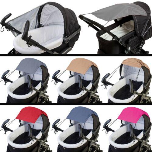 SONNENSEGEL Segel UV für Buggy Kinderwagen Schirm Sonnenschutz Baby Kind 50+