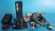 Micros Dt166 Restaurant Display Controller Bunde With Power Adapter And Cables