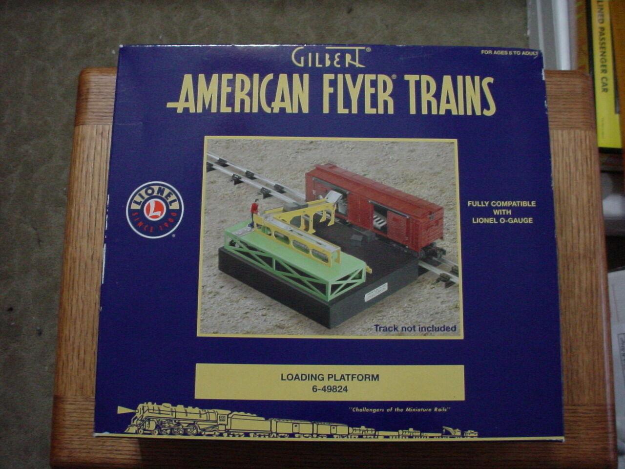 Envíos y devoluciones gratis. Raro American Flyer Gilbert Lionel Plataforma de Cochega 6-49824 6-49824 6-49824  soporte minorista mayorista