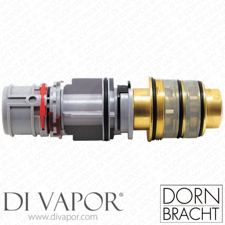Dornbracht 9015020650090 xTOOL cartouche thermostatique Température et poignée
