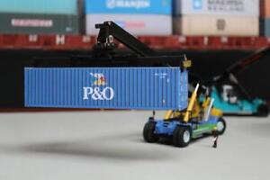 P/&O BLUE 40FT SHIPPING CONTAINER MODEL OO HO N GAUGE PRE CUT CARD DESIGNS