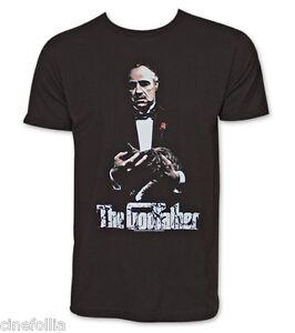 Le Parrain T Shirt Le Don Movie Logo nouveau officiel Homme Noir