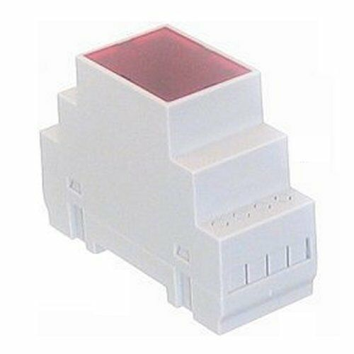 DIN Rail Mounted Plastic Box Enclosure Case N-106  35×90×65mm 1.4×3.5×2.6""