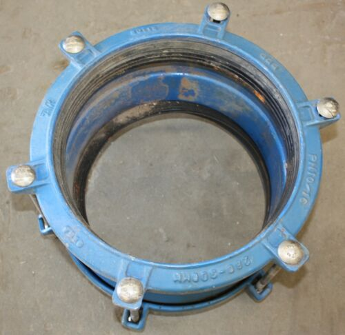 Ductile Iron GGG PN1016 pipe pipeline clamp coupling 280mm306mm