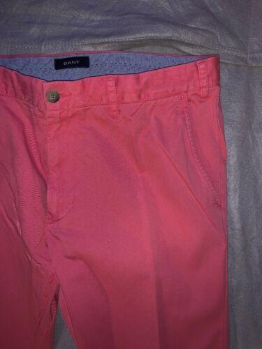 Pantalon Chinos 36 Hommes 34 Ceinture Gant XwT8ST