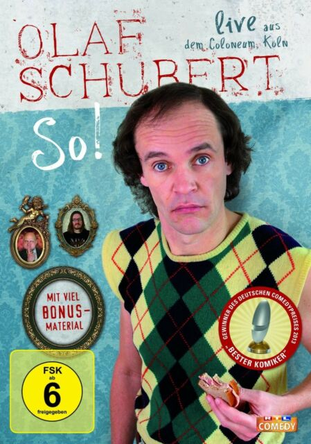OLAF SCHUBERT - SO!  DVD NEU
