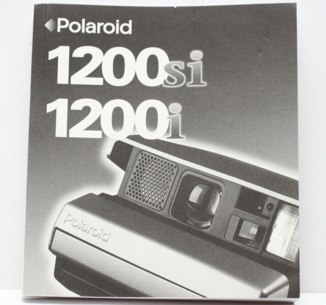 polaroid manual guide collection on ebay rh ebay com Polaroid Spectra AF Camera Polaroid Spectra AF Camera