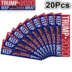 20Pcs-Donald-Trump-2020-Car-Bumper-Stickers-For-President-Keep-America-Great-2H