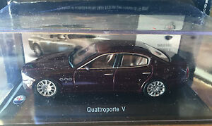 DIE-CAST-034-QUATTROPORTE-V-034-MASERATI-100-YEARS-COLLECTION-SCALA-1-43