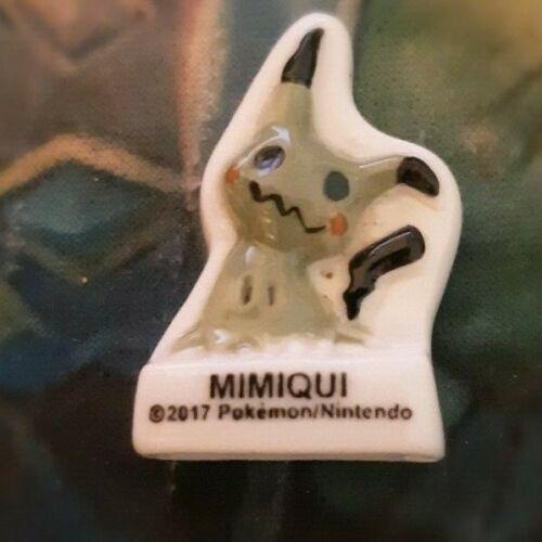 Z1 Fêve brillante plate pokemon 2017 mimiqui