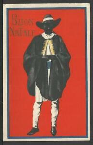 Buon Natale Fascista.Cartolina Buon Natale Coloniale Fascista Con Personalita Indigena Nasi Massaua Ebay