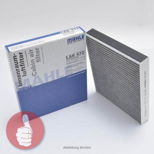 Mahle original espacio interior filtro filtro de polen con carbón vegetal activado lak 216 Honda