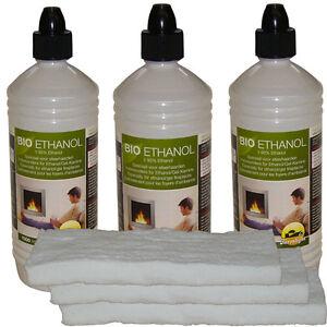 3-x-Keramikschwamm-3-x-1L-Bioethanol-Kamin-Gelkamin-Bioethanolkamin-Keramikwolle