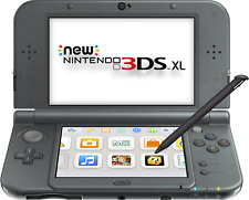 New Nintendo 3DS XL (New Black) - FACTORY REFURBISHED BY NINTENDO