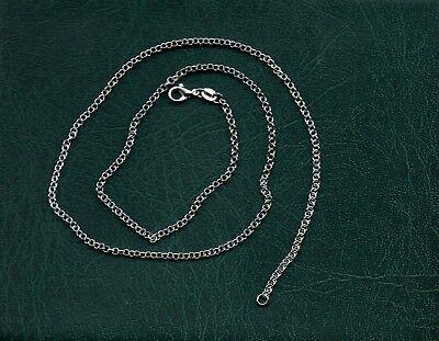 -kette Hals Aus Silber - 50 Cm (337) Modischer (In) Stil;