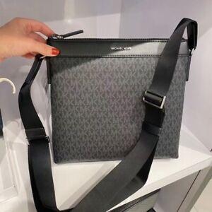 Details about NWT Michael Kors MK Cooper Signature Lg Messenger Crossbody  Swingpack Bag