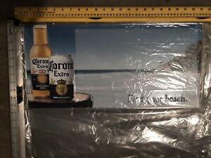 Corona Find Your Beach Metal Sign On Draft Bar Tin Tacker ...