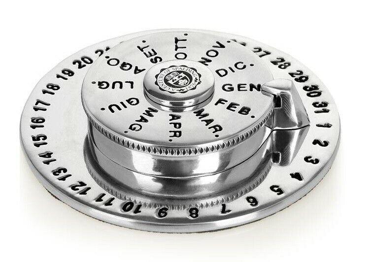 Perpetual Calendar Spalding & Bros a. G.English Object D