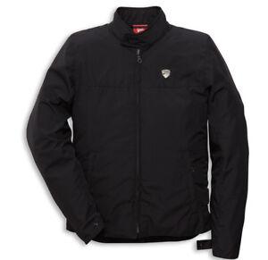 DUCATI-Spidi-CITY-Stoffjacke-Protektoren-Jacke-Jacket-Blouson-schwarz-NEU