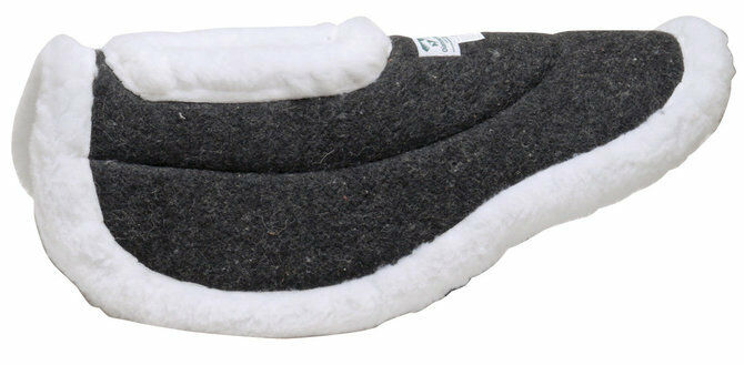 Wool Felt Half Half Half Pad Wither Relief Pad English Horse Saddle Pad NEW 1d766a