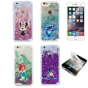 Sparkle-Disney-Glitter-Star-Liquid-Quicksand-Case-Cover-For-iPhone-X-6s-7-8-Plus