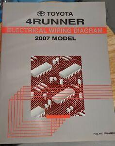 NEW 2007 TOYOTA 4RUNNER 4 RUNNER Electrical Wiring ...