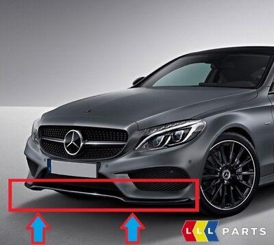 NEW Genuine Mercedes Benz MB Classe C W205 Pare-chocs avant lèvre Inférieure Chrome Trim