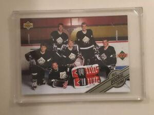 1992-93-Upper-Deck-Hockey-All-Rookie-Team-AR7-Amonte-Hasek-Lidstrom