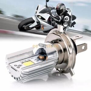 12-V-HS1-H4-Led-Moto-Cyclomoteur-Scooter-Lumiere-Ampoule-Led-HS1-H4-6000-6500K-L