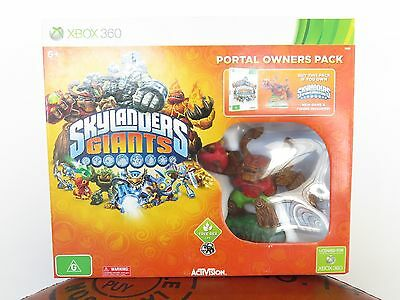 SKYLANDERS GIANTS XBOX 360, PORTAL OWNERS PACK W/ TREE REX, UNOPENED MINT IN BOX