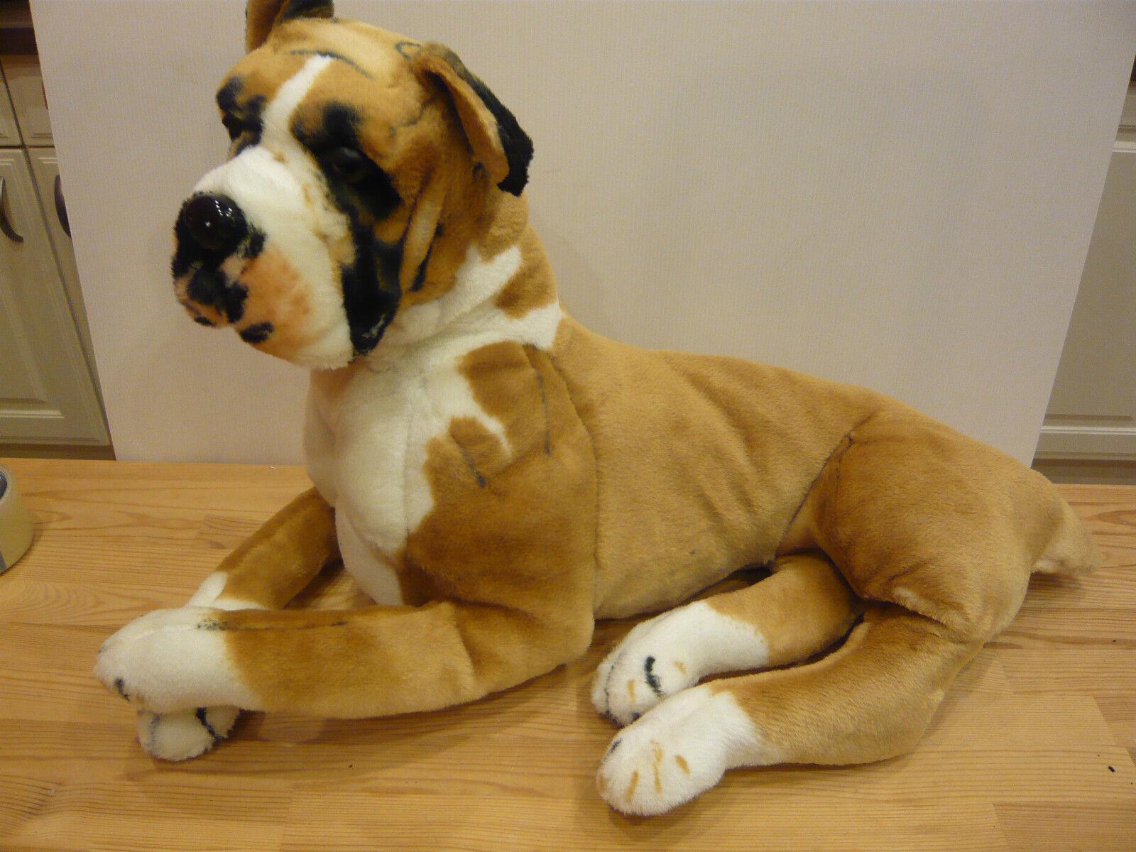 Boxer super dog peluche 120 cm