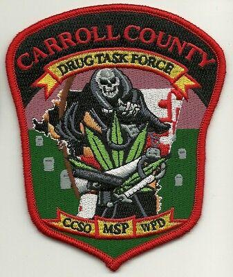 Narcotics Drug Task Force Maryland State Police Caroll County Maryland MD    eBay