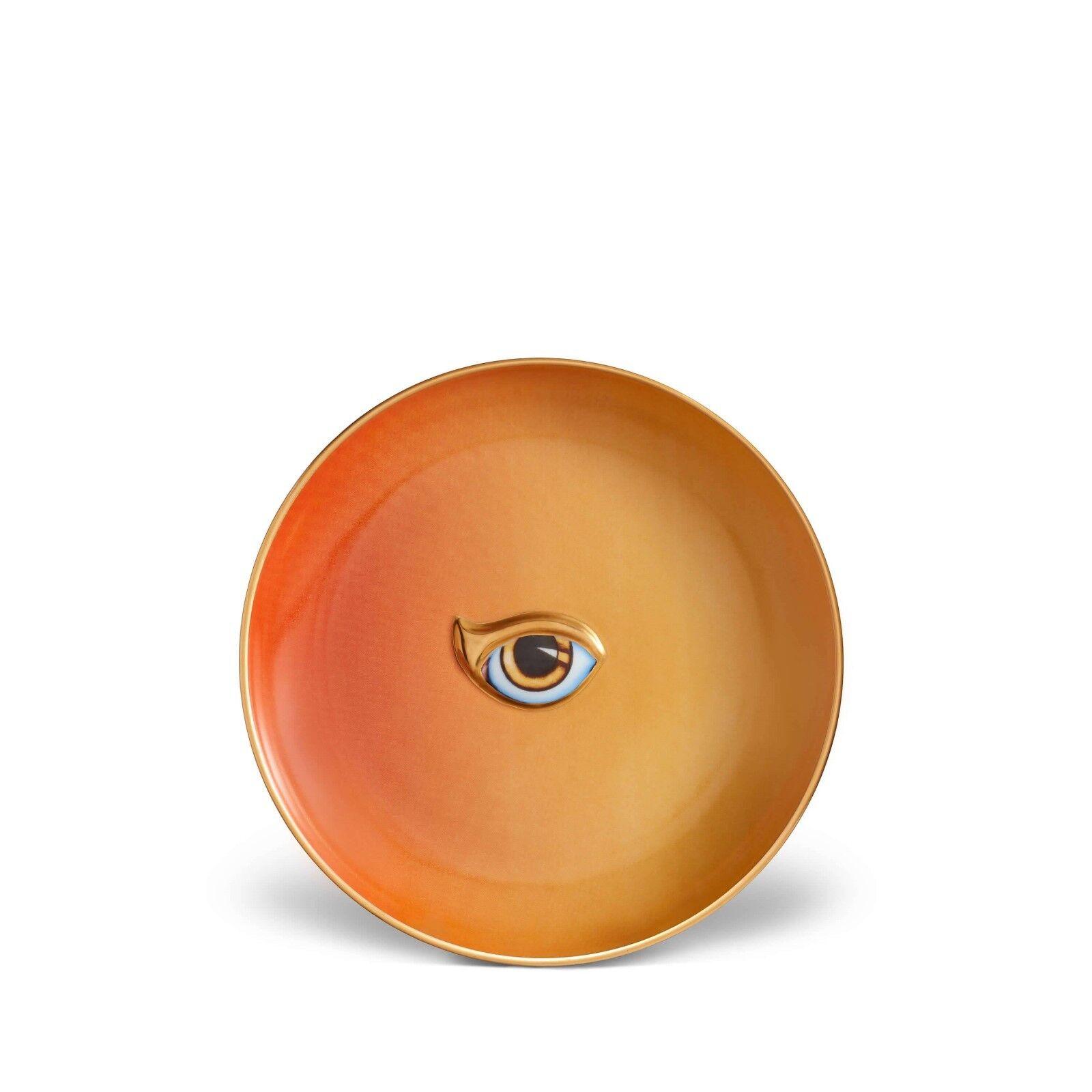 L'objet Lito Plaque-Orange + jaune-lot de 4