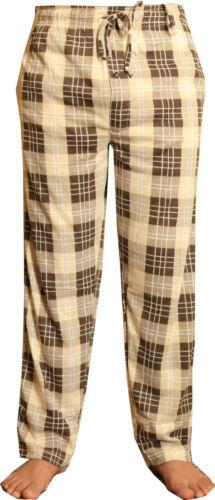New Pyjama Hommes Salon Pantalon Pyjama Coton À Carreaux Pantalon Tartan