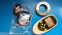 Electrosex,tens Enlargement Set With Scrotum Ball Stretcher+4 Rubber Rings+unit