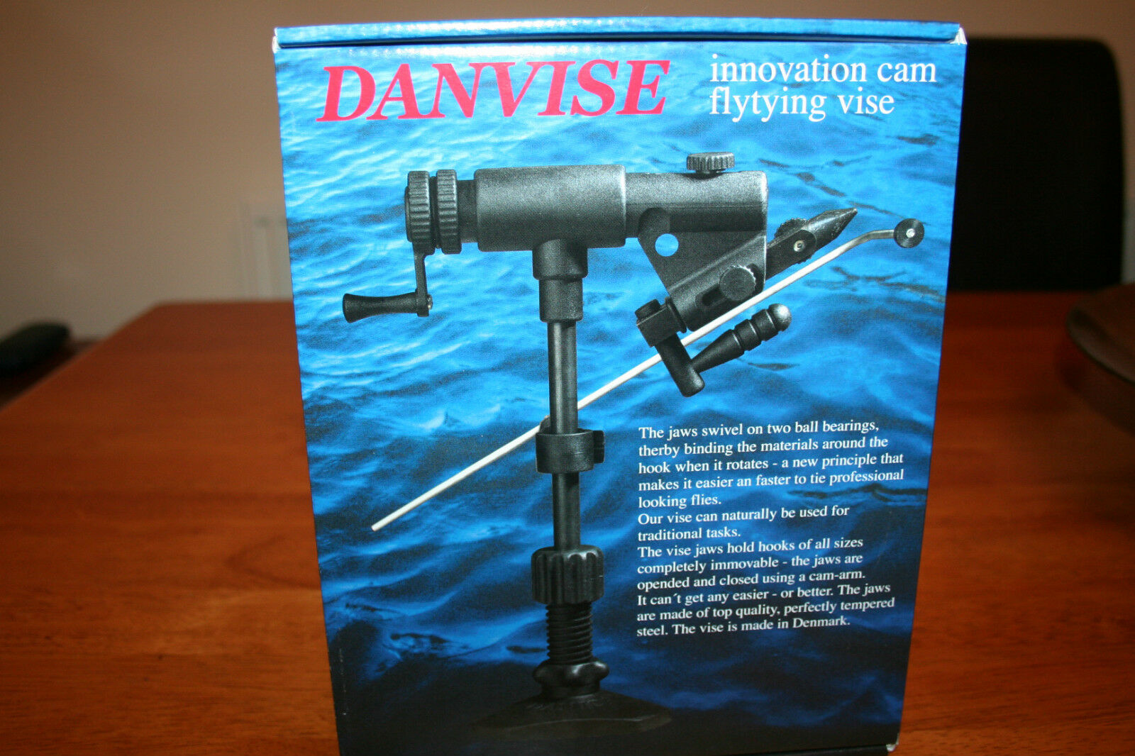 Danica Danvise Fly Tying Vice Cam Jaw action full redating Clamp Model