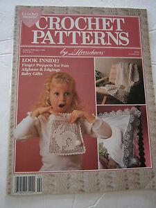February 1990 Crochet Pattern Back Issue Magazine Finger