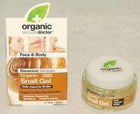 Organic Doctor - Bioactive Revitalizing Snail Gel - Face & Body - 1.7 Oz