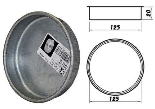 Rohrstopfen Wickelfalzrohr Abluftrohr Anbluftkanal dalap END CAP Ø125mm 85025