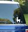Llama Alpaca Decal I Love LLAMAS Heart Funny Window Sticker