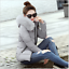 Hot-Winter-Women-039-s-Down-Cotton-Parka-Short-Fur-Collar-Hooded-Coat-Quilted-Jacket thumbnail 9