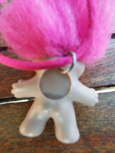 Vintage 1989 Dam Troll Necklaces,1 with orginal label priced individually santa