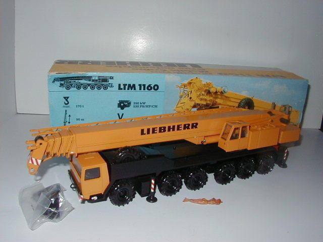 Liebherr LTM 1160 AUTO GRU #2082.1 metallo palo Conrad 1:50 OVP