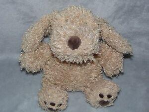 ASDA-BROWN-DOG-SOFT-TOY-TAN-PUPPY-COMFORTER-DOUDOU-GEORGE