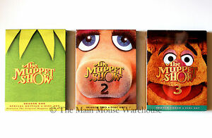 The-Muppet-Show-Complete-Series-One-Two-amp-Three-Episodes-Season-1-2-and-3-on-DVD