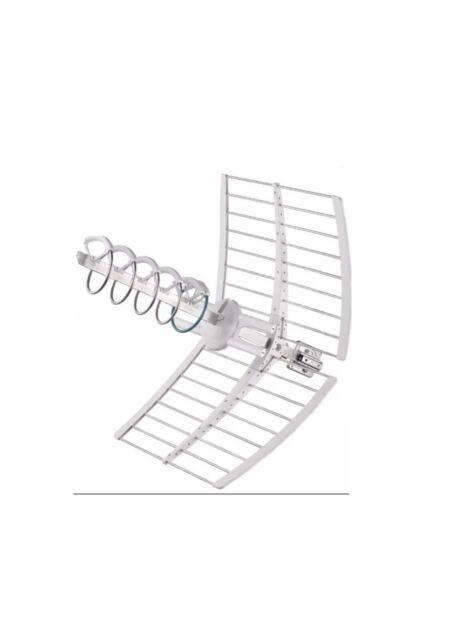 Fracarro 213227 Antenna Elicoidale UHF Attiva Elika PRO con Puntamento Led