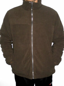 Fleecejacket Chocolate Fleecejacke Gefütterte Chili Life xxxl Padded M Mens Line FwEn6Oq